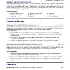 Medical Billing Resume Samples - April.onthemarch.co