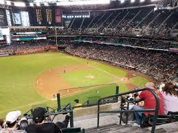 Chase Field Section 321 Home Of Arizona Diamondbacks