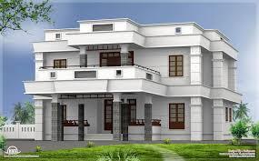 Kerala Flat Roof House Design 5 Bhk Modern Flat Roof House Design House Roof Design