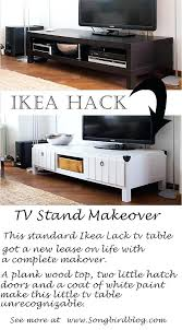 tv table stand ikea now i have another white surface to fill with pretty vignettes furniture