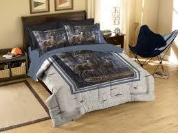 whitetail deer bedding set comforter matching shams
