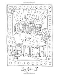 Awesome Adult Coloring Pages Quotes For Coloring Pages Make A Page