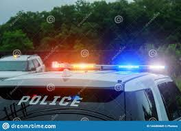 Why Are Police Lights Red And Blue Red And Blue Flashing Lights On Police Car Stock Image