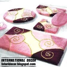 light pink bathroom rug sets superb bath set