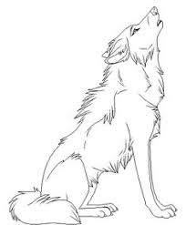 wolf howling drawing anime. Fine Drawing Cartoon Animal Howling Wolf Coloring Pages Printable And Book To  Print For Free Find More Online Kids Adults Of  With Wolf Howling Drawing Anime O