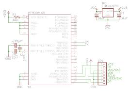 sd reader schematic png reading an sd card an atmega168 atmega168 and sd card test circuit schematic