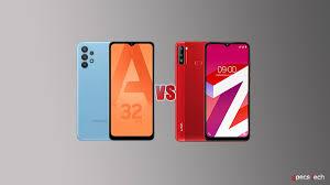 Samsung Galaxy A32 VS Lava Z6 ...