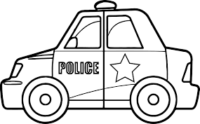 Small Picture Super Police Car Coloring Page Wecoloringpage