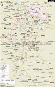 Auto Fare Chart In Jaipur Jaipur City Map