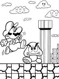 New Super Mario Bros Coloring Pages 316 Free Printable Coloring