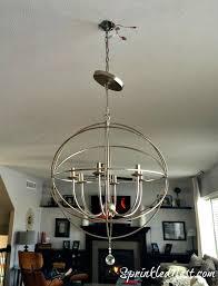 installing orb chandelier ballard designs