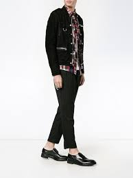 lanvin press stud leather jacket men lanvin jackets great
