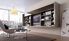 Living Room Shelves And Cabinets Furniture Wall Living Room Storage Furniture With Bookshelf And