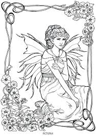 Advanced Fantasy Coloring Pages At Getdrawingscom Free For