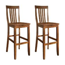 cherry bar stools. Crosley Furniture Set Of 2 Casual Classic Cherry Bar Stools O