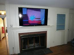 smlf fireplace flat screen tv stands mounting over brick designs mantel ideas tips mount wall