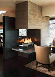 55 best See-through Fireplaces images on Pinterest | Fireplace ...