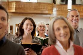 Image result for pictures of people in church