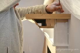 fireplace mantle mantel shelf plans building