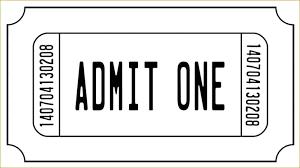 Admit One Ticket Template Free Mesmerizing Template Free Printable Golden Ticket Templates Blank Willy Wonka
