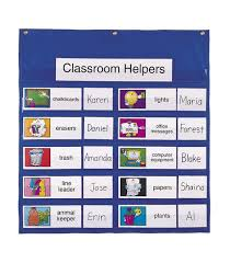 Classroom Helpers Pocket Chart The Job Pocket Chart Is Great For Organizing Your Classroom