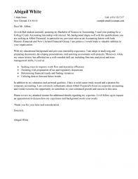 Cover Letter Sample For College Student Seeking Internship Baskan