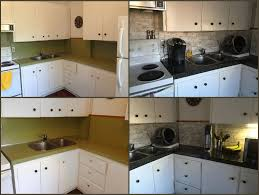 Kitchen Backsplash For Renters When Youre Only Renting But You Cant Stomach The 1970s Chic
