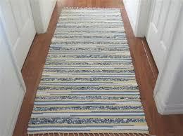 appealing rag runner rug hand woven rag rug runners elizabeths loom room