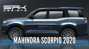 Mahindra Scorpio Design Mahindra Scorpio 2020 Rendering Making Video Srk Designs