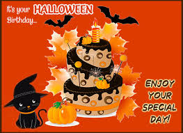 Halloween Birthday Free Happy Birthday Ecards Greeting