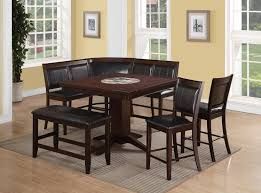 height of dining table bench. crown mark harrison 7 piece counter height dining set - item number: setd2726 of table bench