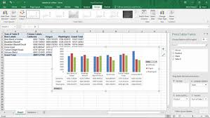 Chart Data Tables And Excel Pivot Charts Dummies