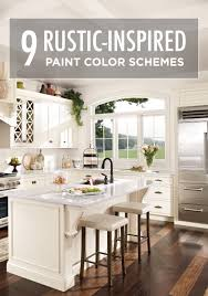 These 9 Rustic Inspired Paint Color Schemes Are Sure To Give You The
