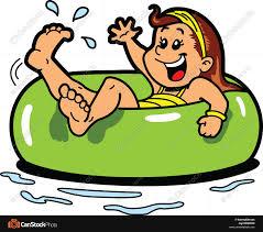 inner tube clipart. Wonderful Tube Girl Floating Inner Tube Throughout Inner Tube Clipart N