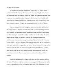 the down fall of odysseus essay zoom zoom zoom