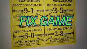 Mumbai Game Chart 03 06 2019 Kalyan Mumbai Bhole Baba Chart Fix Game Free Me