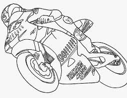 Kleurennu Racemotor Kleurplaten
