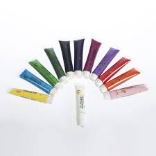 1set Acrylic UV Gel Design 3D Paint Tube Nail Art Pen 12 Colors ...
