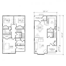 Small House Plans With Garage Attached  Duplex Plans With Garage Small Home Plans With Garage