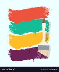 paint brush background. Plain Brush Paint Brush Background Retro Vector Image Intended Brush Background C