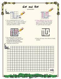 Cat and Rat – Fun Geometry Worksheet for Third Grade – Math ...