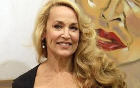 Model and actress Jerry Hall has has rushed to Sir Mick Jagger's rescue over claims about the size of his manhood Photo: AP - jerryHall_1741353c