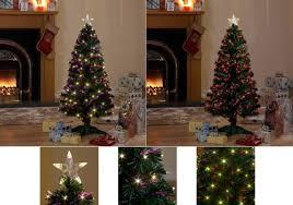 snowtime fibre optic sprstar tree with