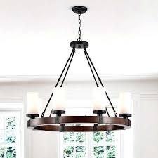 round wood chandelier antique black with frosted glass globes plans round wood chandelier