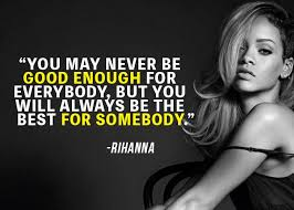 Quotes About Being Yourself Awesome 48 Amazing Rihanna Quotes On Being True To Yourself