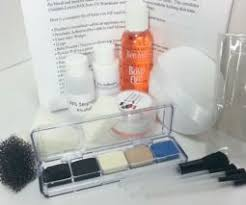 professional prosthetic application makeup kit for vires