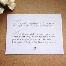 wedding invitation wording for cash gifts 5 x wedding poem cards for invitations money cash gift