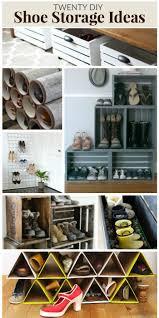 Shoe Organizer Ideas 42 Best Diy Shoe Storage Images On Pinterest Storage Ideas