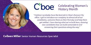 Womens History Month At Cboe