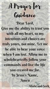 A Prayer For Guidance Me My Babies Christian Prayers